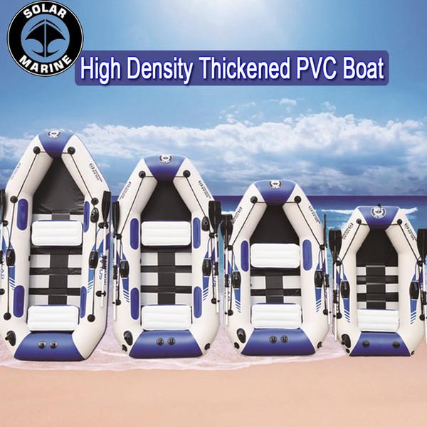 3 Schicht 0.9MM PVC-Material-Fachmann Inflatables Boot Fischerboot aufblasbarer lamellierter haltbarer Gummi