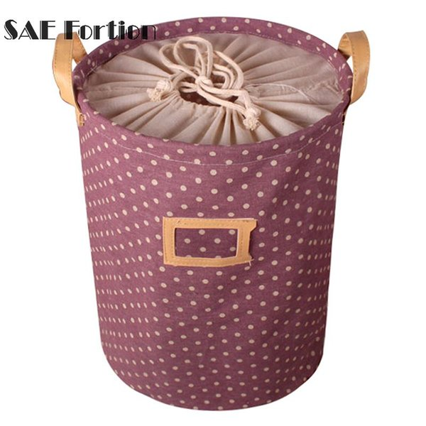 Waterproof Storage Basket Bag Toy Dirty Laundry Basket Bag Clothes Toys Storage Box Sundries Fabric Folding ZH01264