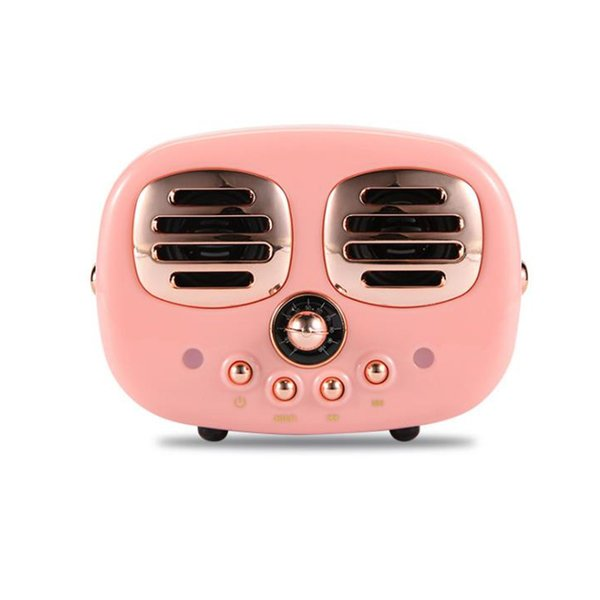 One Piece Retro Wireless Bluetooth Speakers Mini Portable NEW Classical Stereo Subwoofer Speaker Music Player Support TFcard Radio for gift