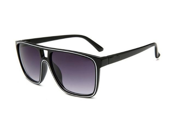 Хорошее качество новых мужчин и женщин через крокодил солнцезащитные очки 2384 модные солнцезащитные очки