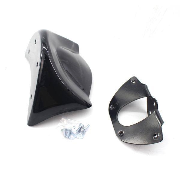 Für Harley Dyna FXDL FXD FXDB Motorrad Front Kinnspoiler Luftdamm Verkleidung Windschutzscheibe Kotflügelabdeckung Halterung