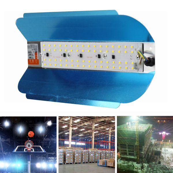 LED TUNGSTENO Luz de inundación 50W Reflector 110V 220V Reflector LED Refletor LED Iluminación exterior Lámpara Gargen a prueba de agua