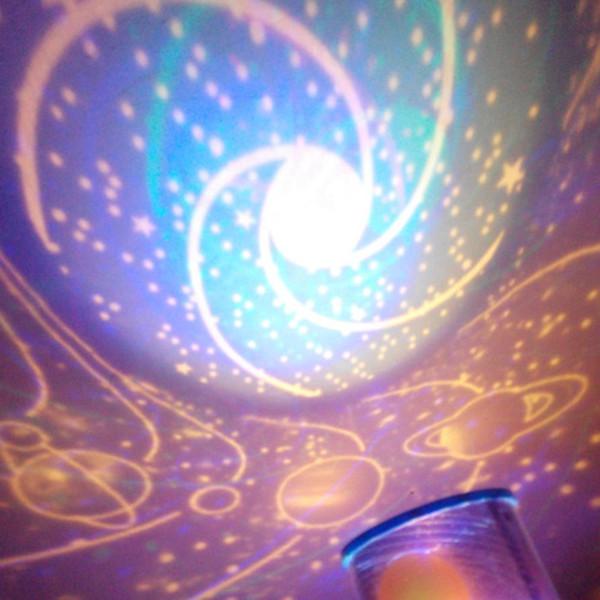 Bunte LED Nachtlicht Projektor Sternenhimmel Stern Mond Kinder Kinder Baby Schlaf Romantische LED Projektionslampe Room Decor