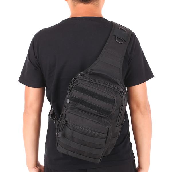 Outdoor sport bag Assault Pack Gear Sling Pack Backpack Single Shoulder Bag Chest Pack Bag Molle Daypack for Camping Hiking Hunting
