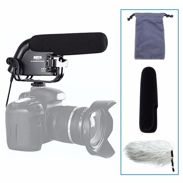 BOYA BY-VM190P Camera Stereo Video Condenser Shortgun Microphone for Canon for Nikon Pentax DSLR Camera Camcorder