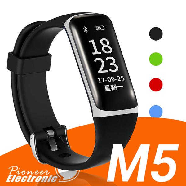 M5 Fitness Tracker Smart montres bandes Étanche Activité Moniteur de Fréquence Cardiaque Sommeil Sans Fil Bluetooth Smart Bracelet Podomètre Bracelets