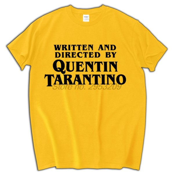 Tarantino Tribute T-Shirt men 100% Cotton shirt Pulp Fiction Reservoir Dogs