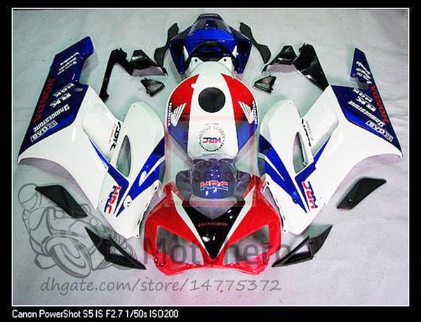 ABS обтекатель CBR1000RR 2004 ABS обтекатель для Honda Cbr1000 04 полный комплект РР теле огненный 2005 красный белый СПЧ 2004 - 2005 S125