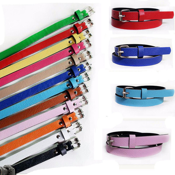 Cintura donna multicolore Cintura fibbia in metallo Casual Cintura sottile Cintura con cinturino in vita NGift