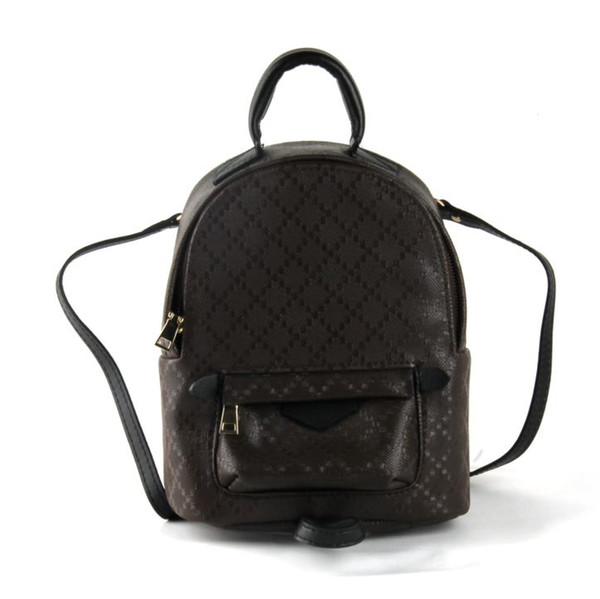 top popular Mini backpack lady Genuine Leather Backpacks fashion back pack fow women handbags Presbyopic Mini shoulder bag Mobile Phone Purse wholesale 2020