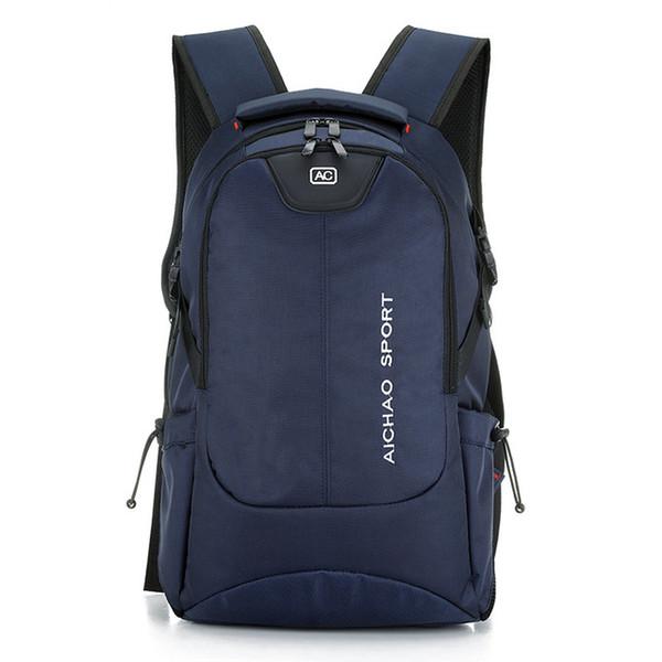 Hot Sale Women Backpack For Women Laptop Bag Oxford 15.6 Inch Multifunction Backpack Large Capacity Black Men Travel Bags