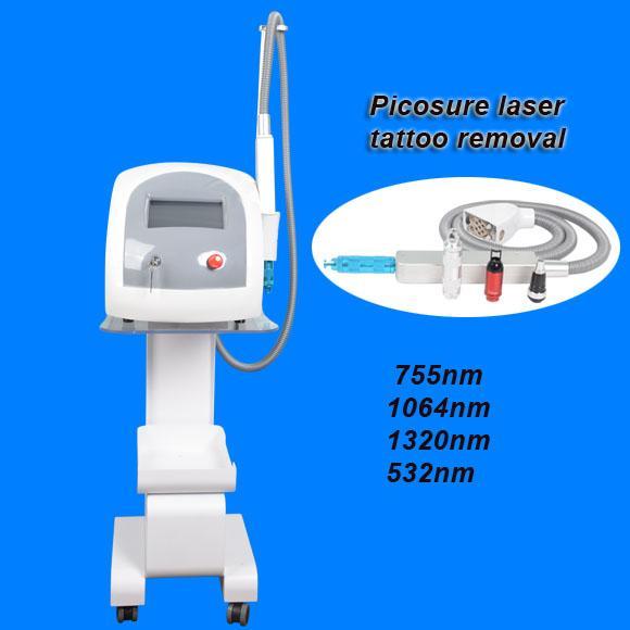 Neues Design-Pico-Laser q Schalten und Yag Laser Tattoo entfernen dunkle Hautflecken picosure Honeycomb Laser Speckle-Entfernungsmaschine