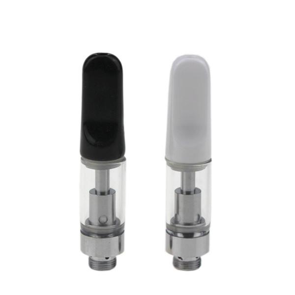 2018 CREC Vaporizzatore Ceramica Drip Tip Cart vapori vaporosi Cera per fumatori 510 MT6 G5 Cartuccia per preriscaldamento Batteria e batteria