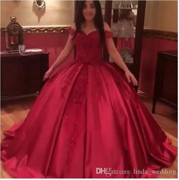 Arabic Red Long Evening Dress New Arrival Prom Dress Formal Event Gown Plus Size robe de soire vestido de festa longo