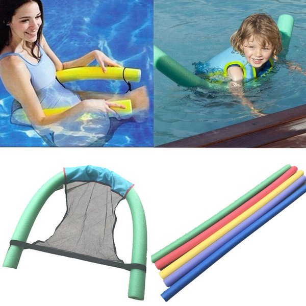 Floating Chair Swimming Pool Kids&Adult Seat Floating Bed Chair Noodle Chairs Buoyancy Swimming Ring Accessory Noodle Chairs