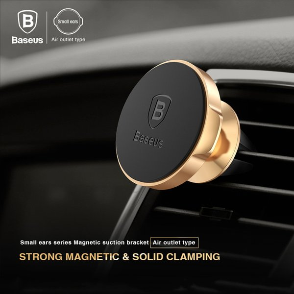 Baseus Magnetic Car Holder 360 Degree Air Vent Mount Mobile Phone Holder for iPhone Samsung S9 S8 GPS Car Bracket Holder Stand
