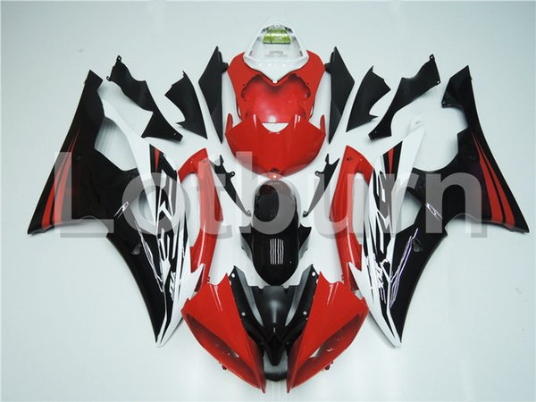 Fit For Yamaha YZF600 YZF 600 R6 YZF-R6 2008-2016 08 - 16 Motorcycle Fairing Kit High Quality ABS Plastic Injection Molding Custom Made A416