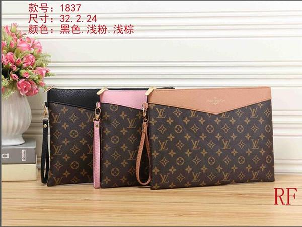 top popular New high quality men's and women's handbag shoulder bag diagonal clutch bag free shipping 963 2019