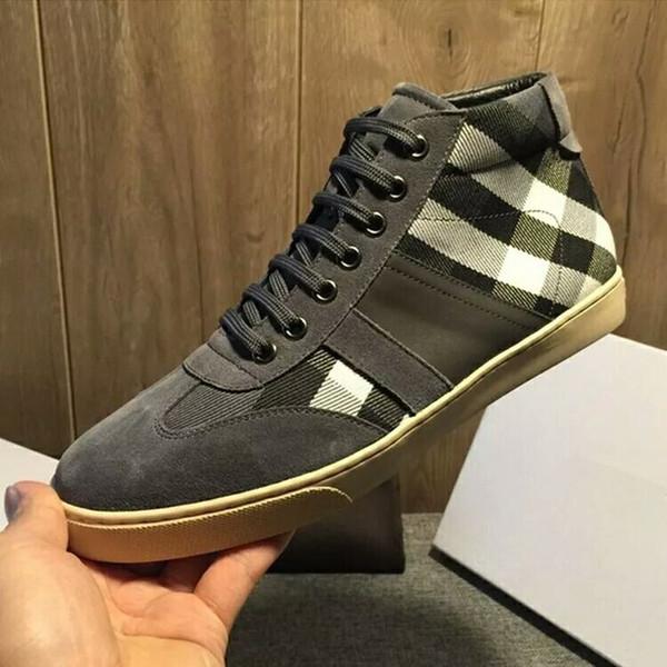 Plus la taille 38-44 hommes femmes chaussures de sport chaussures de sport de haute qualité Italie célèbres marques italiennes marques de luxe en cuir véritable scarpe da