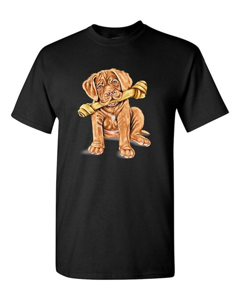 Футболка с логотипом Мужская любительница французского мастифа Таня Рэмси Artworks Art с коротким рукавом печать рубашка с круглым вырезом