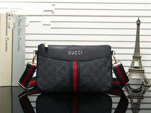 Men And Women Fashion Printing Letter Clutch Cloth Plaid Purse Multi-Color Convenient Zero Purse Cosmetic Bag Brands