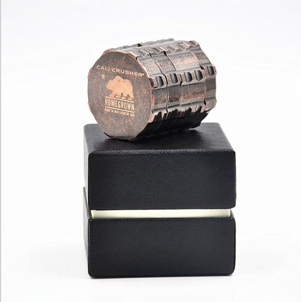 Zinc alloy smoke grinder polar bear grinding cigarette diameter 53mm
