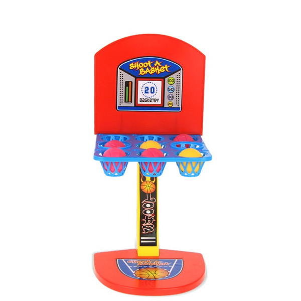 New Fashion Kid toys Mini Basketball Toy basketball stand indoor Parent-Child Family Fun Table Game Toy Basketball Shooting Games