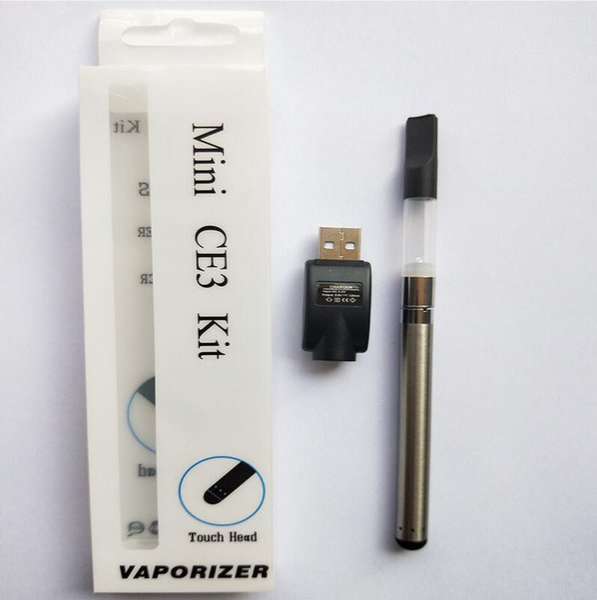 Top Quality Ce3 Blister Kit Vaporizer 280Mah Bud Touch Battery O Pen Cartridge Atomizer Vapor Wax Thick Oil Tank E Cigarettes Vapes