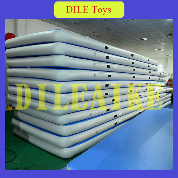 Free Shipping 3m Inflatable Air Track Floor Home Gymnastics Tumbling Mat Gym Taekwondo with Electric Air Pump