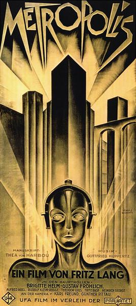 Métropole Allemand Vintage Film Film Art Toile Affiche Moderne HD Imprimer Peinture À L'huile Mur Art Peinture Image Affiche Pour La Décoration De La Chambre