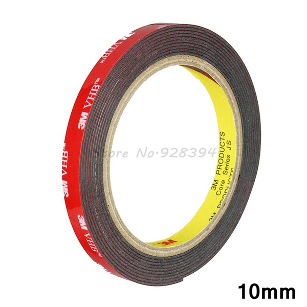 3M VHB 5952 Black Heavy Duty Mounting Tape Double Sided Adhesive Acrylic Foam Tape 10mmx3Mx1.1mm 2016