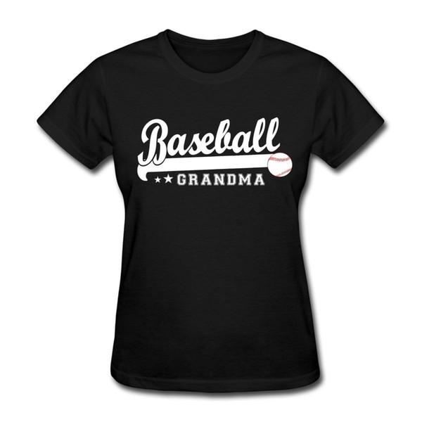Women's Tee Baseballer Grandma Women's T-shirt Design Tops Hot Salestee Shirts New 2017 Free Shipping Trend Fashion Brand T Shirt