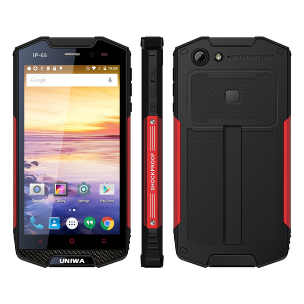 Unlocked Dual SIM Card 4G Cell phone Android Rugged 8MP IP68 Waterproof 5.0 Inch IPS Screen Unlocked Big Battery