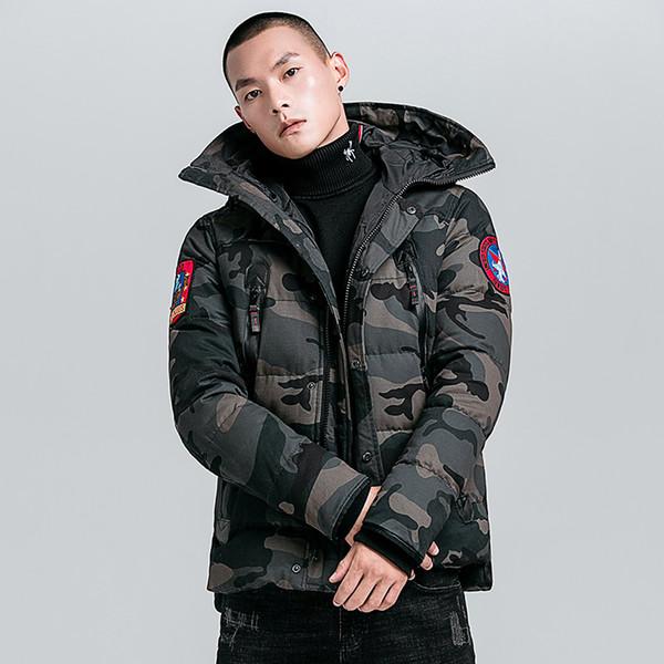 2019 Novos Chegada dos homens Inverno Cordeiros Quentes Zipado Grosso Casaco de Lã Sólida de algodão acolchoado mens jaquetas de inverno de alta qualidade outwear