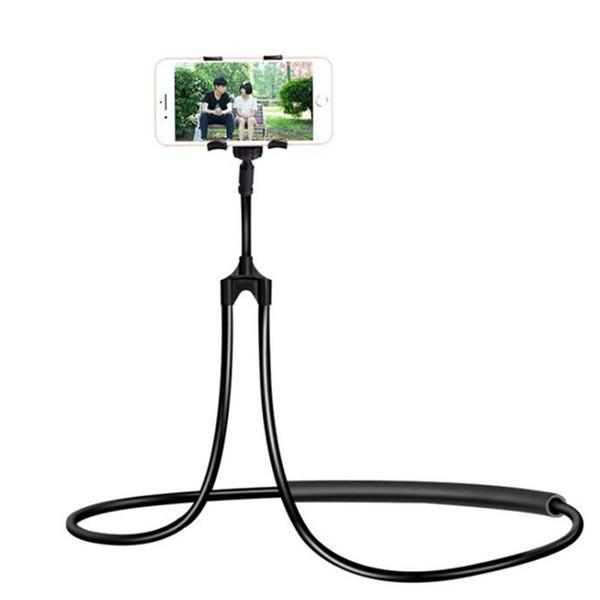 lazy bracket for 3.5-5.5 inch Cellphone Holder Lazy Neck phone holder Universal Flexible Phone Selfie Holder porta celular free shipping