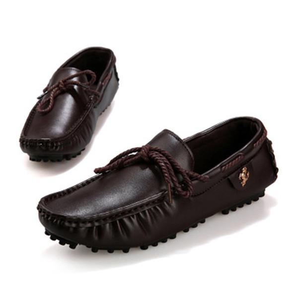 Compre Mocasines Masculinos Hombre Pisos Zapatos Cuero dxoCBe