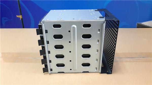 SATA SAS HDD Sabit Disk Kafes Adaptörü Tepsi Caddy Raf 3x 5.25 inç CD-ROM Yuvası Için Dahili İç PC