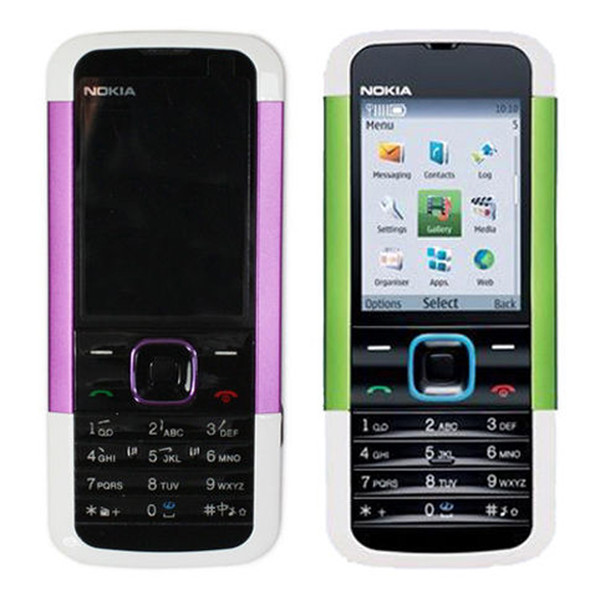 Refurbished Original Nokia 5000 Unlocked GSM 2G Network Bar Mobile Phone 2.0 inch Screen 1.3MP Camera Cheap Phone Free Post 1pcs