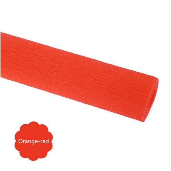 Cor: vermelho alaranjado