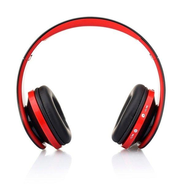 NX-8252 профессиональный складной Беспроводной Bluetooth наушники супер  стерео бас эффект портативная гарнитура для DVD MP3 251522e6b1d83