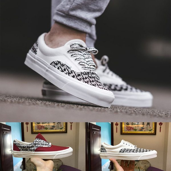 ... 5e3a1 2de5f Fear Of God x Men Women Casual Shoes PacSun Era 97 95  Reissue Canvas ... 87595b801c