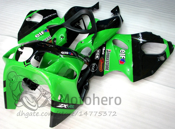 3Gifts Fairings For KAWASAKI NINJA ZX7R 1996 1997 1998 1999 2000 2001 2002 2003 YEAR ZX7R 636 96 - 03 fairing pre_drilled #DD2291