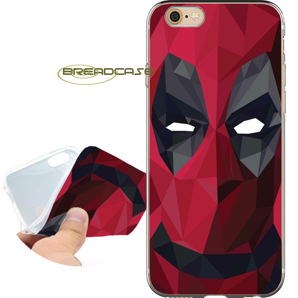 Comic Deadpool Eyes Coque Clear Soft TPU Silicone Phone Cases for iPhone 10 X 7 8 6S 6 Plus 5S 5 SE 5C 4S 4 iPod Touch 6 5 Cover.