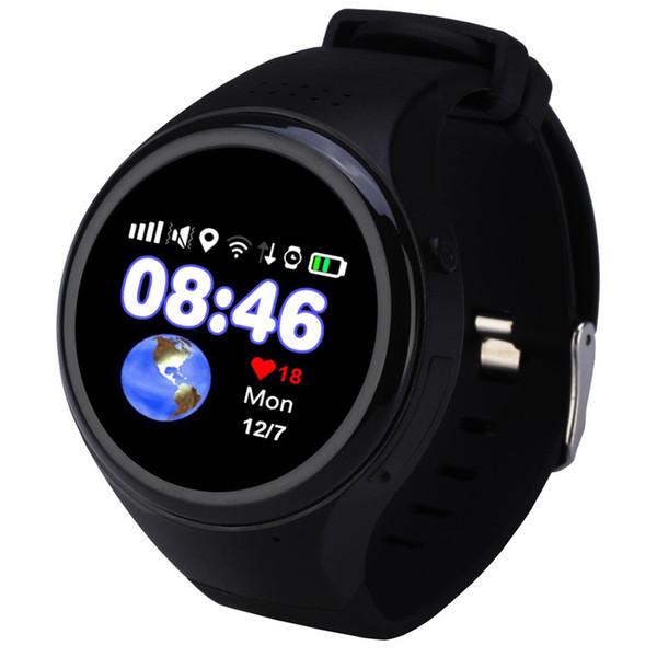 Enfants Écran Tactile GPS Smart Watch WIFI Positionnement Enfants Vieil Homme Téléphone SOS Baby Suivi Montre Anti Lost Tracker Carte SIM