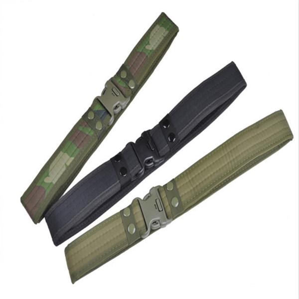 Professional Police duty belt Accessories belt Outdoor war Equipment Wear Combat Hiking Sport cheap tactical gear molle belt