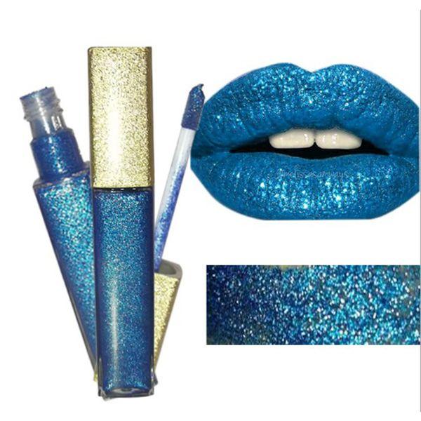 Venta al por mayor maquillaje cosméticos cosméticos lápiz labial de alta calidad antiadherente taza de larga duración 7 colores brillo brillo brillo de labios