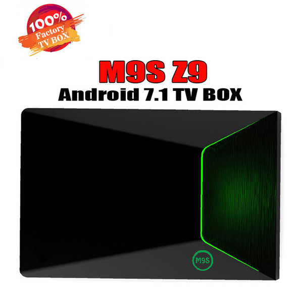 Amlogic S912 M9S Z9 Android 7.1 smart ott TV BOX Octa Core 2G 16G WiFi duplo Bluetooth 4K H.265 Melhor MXQ PRO M8S S8 PRO S905W