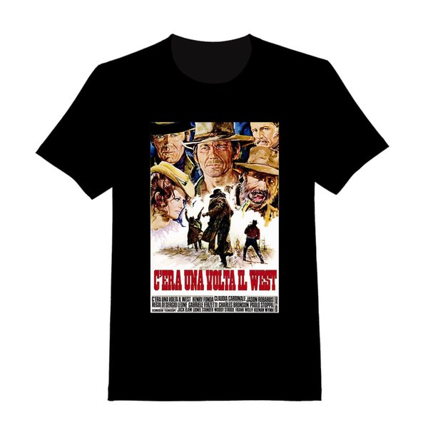 Once Upon A Time In The West - Custom Spaghetti Western T-shirt ( 005 ) Custom T Shirts T Shirt Design Ifunny Cool Designs