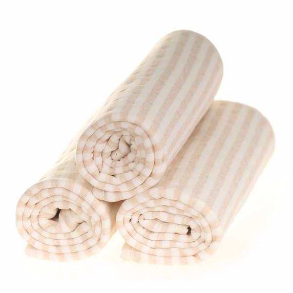Los recién nacidos colchón almohadillas de bebé a prueba de agua pañales de lactancia menstrual manta absorbente de agua de color orgánico 100% algodón hecho