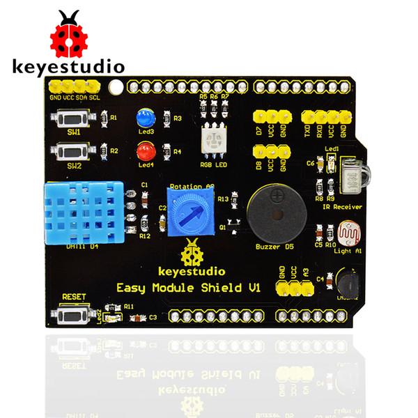 Free shipping! keyestudio Multi-purpose Shield V1 for Arduino Projects